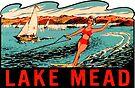 Lake Mead Vintage Travel Decal by hilda74
