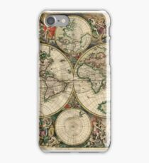 Old World Map (Historical) iPhone Case/Skin
