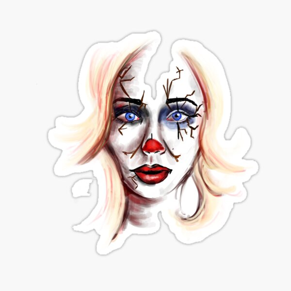 I'll Be your Clown #2 Sticker
