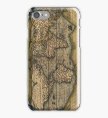 Old World Map (Antique) iPhone Case/Skin