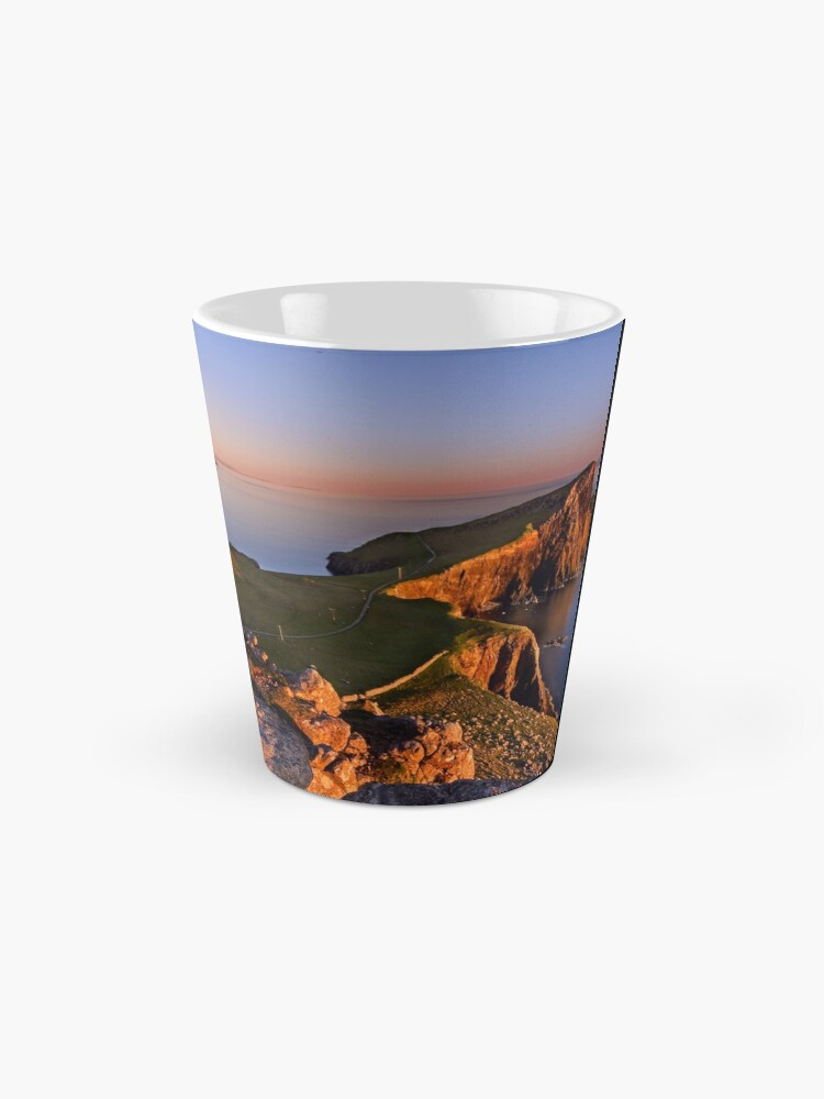 Alternate view of Neist Point. Isle of Skye. Scotland. Mug