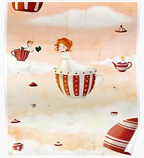 Tea Party in the Sky Poster