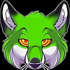 Hypno Fox - Green by pterosaur
