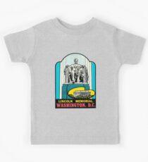 Lincoln Memorial Washington DC Vintage Travel Decal Kids Clothes