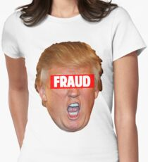 TRUMP: FRAUD Women's Fitted T-Shirt