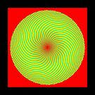 Phyllotaxis_020 by Rupert Russell