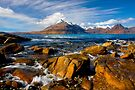 The Cuillins from Elgol, Isle of Skye, Scotland. by PhotosEcosse