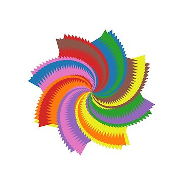 Colorful Spiral by iterograph
