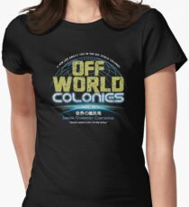 Blade Runner - Shimata Dominguez Off World Colonies Distressed T-Shirt