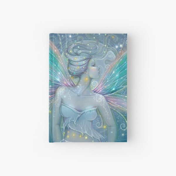 Starry Night Fairy Mystical Fantasy Art Molly Harrison Hardcover Journal