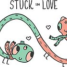 Stuck in Love Illustration by Jess Emery