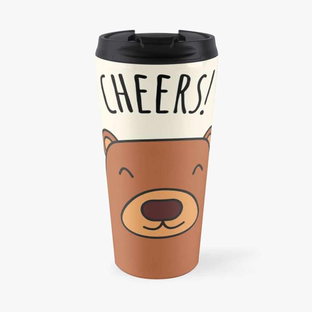Cheers Bear! Travel Mug