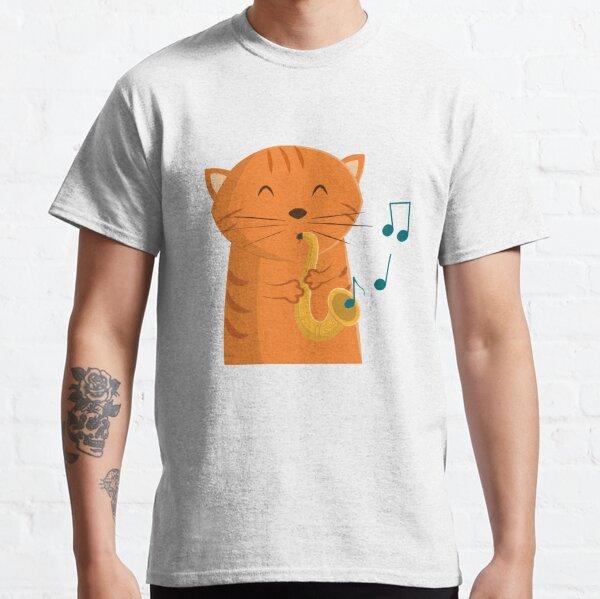 Jazz Cat Classic T-Shirt