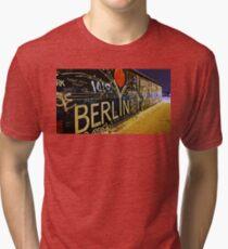 Berlin Wall Tri-blend T-Shirt