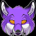 Hypno Fox - Purple by pterosaur
