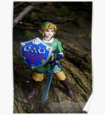 Figurine Photograph - Link Poster