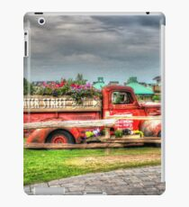 Antique pickup truck at Blue Mountain 2 - HDR iPad Case/Skin