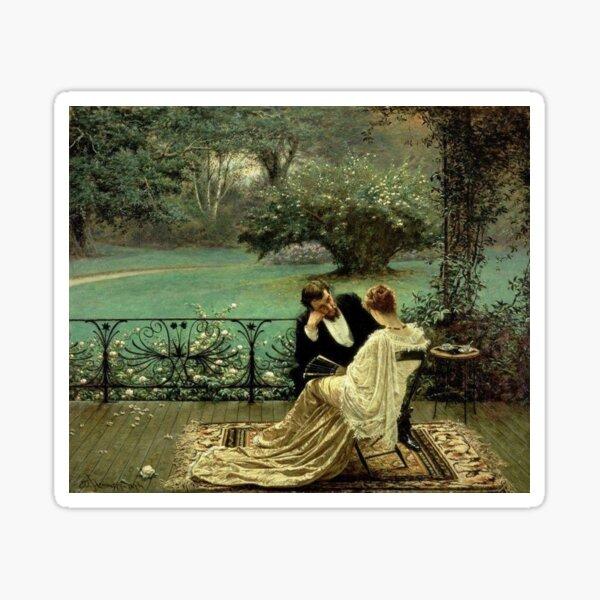 The Pride of Dijon (1879) by William John Hennessy Sticker