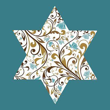Star of David // Judaica by DrawnToMind