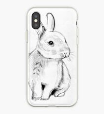 Bluebell the Fluffy White Bunny iPhone Case