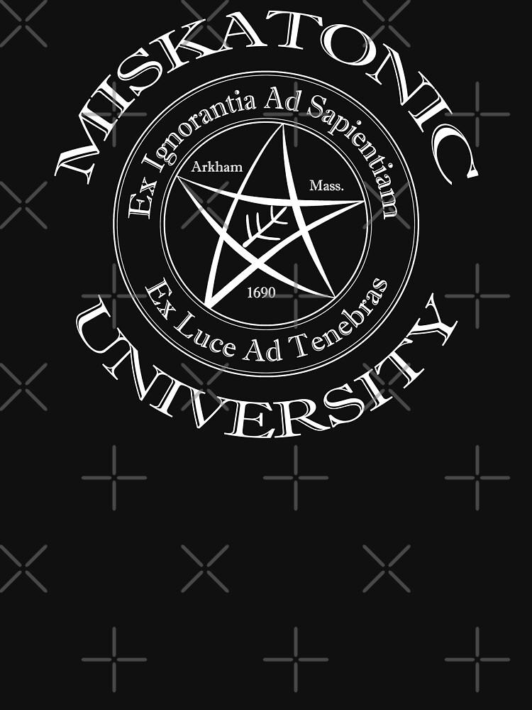 TShirtGifter presents: Miskatonic University Logo   Unisex T-Shirt