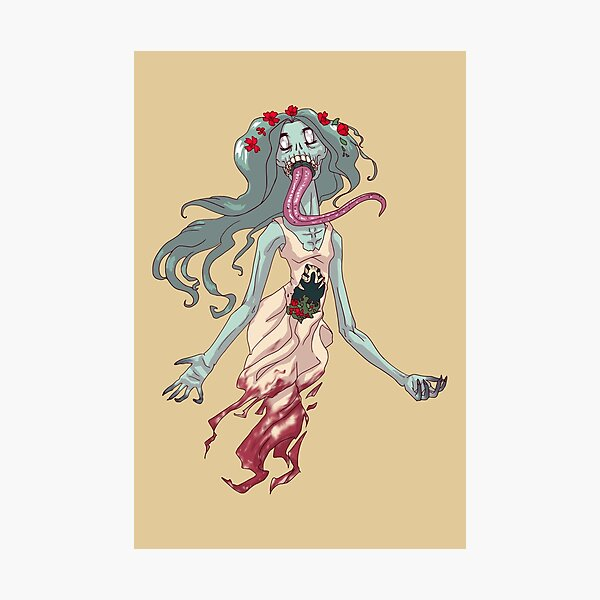 Wraith Ghost Woman MONSTER GIRLS Series I Photographic Print