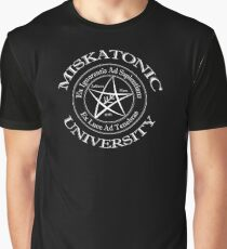 Miskatonic University Logo Graphic T-Shirt