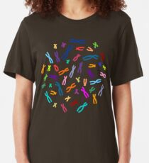 Color Coded DNA Slim Fit T-Shirt