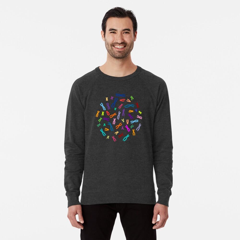 Farbkodierte DNA Leichter Pullover
