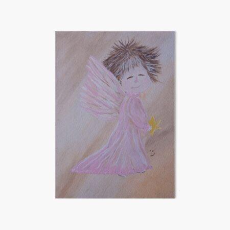 First Star Angel Art Board Print