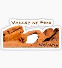 Valley of Fire Sticker
