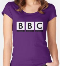 Because Benedict Cumberbatch Women's Fitted Scoop T-Shirt