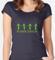 KRAFTWERK | Kraftwerk | NEON Women's Fitted Scoop T-Shirt