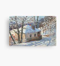 Winter sketch Canvas Print