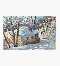 Winter sketch Photographic Print