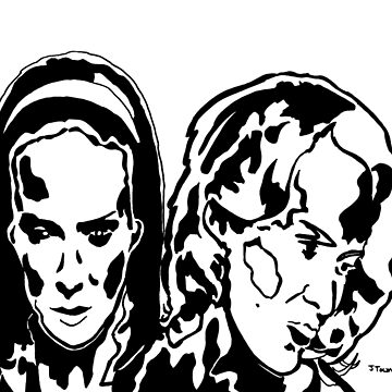 Twins American Horror Story Freak Show Black and White JTownsend by jtownsend
