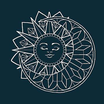 Sun & Moon by lyndseyahughes