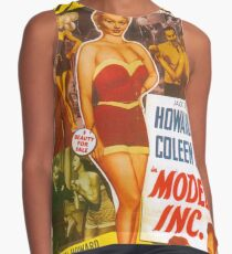 American Classic Movie Posters - Models, Inc.1952 Contrast Tank