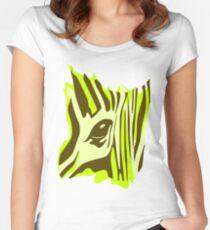 Wildlife Zebra Women's Fitted Scoop T-Shirt