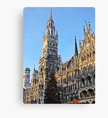 Munich Cathedral  Canvas Print