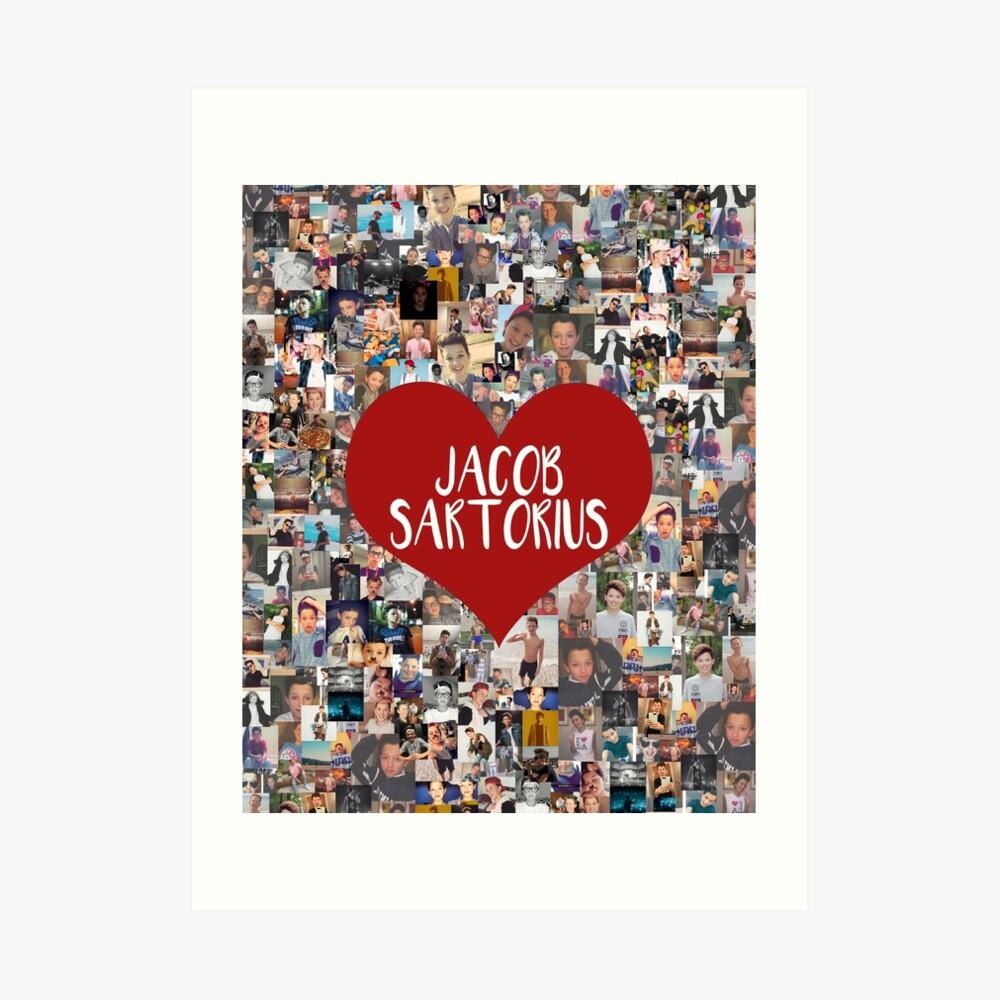 Ich liebe Jacob Sartorius Kunstdruck