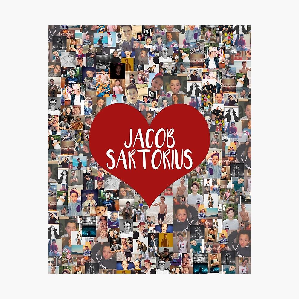 Ich liebe Jacob Sartorius Fotodruck