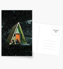 Ein Haus im Weltraum Postkarten
