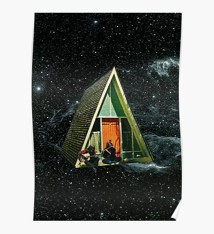 A house in space Poster