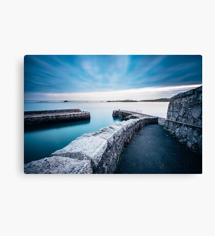 Coliemore Harbour, Dalkey, Ireland Canvas Print