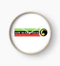 Air Wakanda- Logo Clock