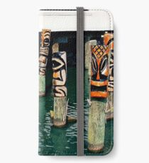 Eight Tikis iPhone Wallet