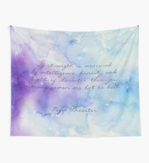 Paget's Quote About Women (Version 2) Wall Tapestry