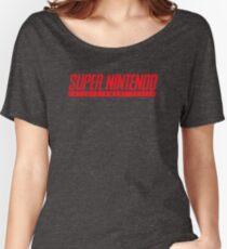 SUPERNINTENDO Women's Relaxed Fit T-Shirt
