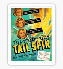 American Classic Movie Posters - Tail Spin, 1939 Sticker